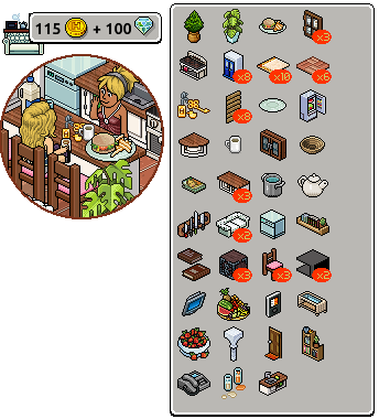 [ALL] Affare stanza Dolce Casa in catalogo su Habbo Scre1325