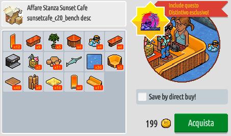 Reinserito affare stanza Sunset Cafe su Habbo Scre2176