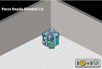 Pacco Regalo Diamanti 2.0 in catalogo su Habbo Scre2681