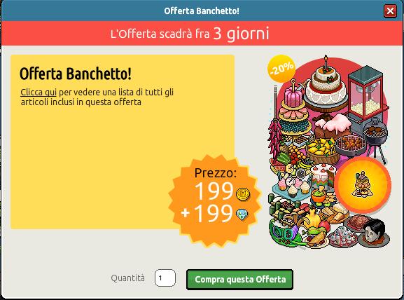 Offerta Banchetto su Habbo Scre2775