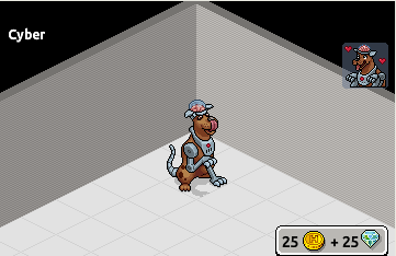 [ALL] Inserito Cyber, il Cane Cyborg raro in catalogo su Habbo! Scree299