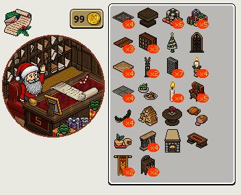 [ALL] Reinserito l'affare stanza Ufficio di Babbo Natale in catalogo! Scree506
