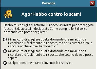 [IT] Quiz sicurezza AgorHabbo contro lo scam in Caffetteria Scree735