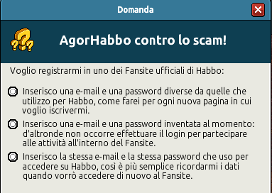 [IT] Quiz sicurezza AgorHabbo contro lo scam in Caffetteria Scree739
