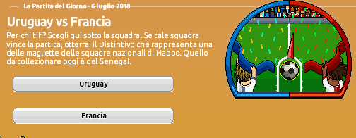 [ALL] Mondiali di Calcio 2018 su Habbo: Uruguay vs Francia Screen73