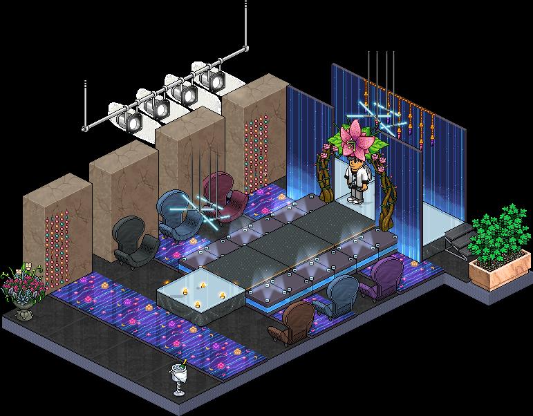 Affare stanza VIP Secret Passerella in catalogo su Habbo Vip_se10