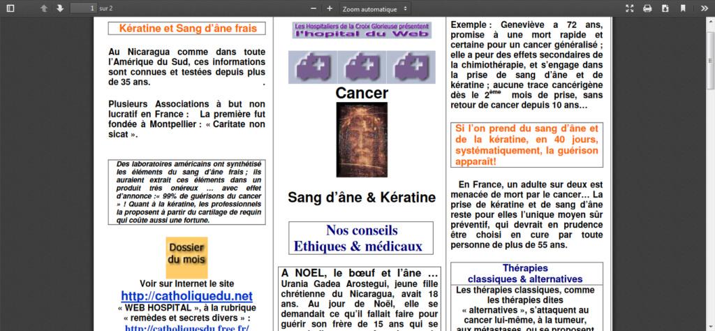 Un traitement capable de guérir le cancer ? Screen10