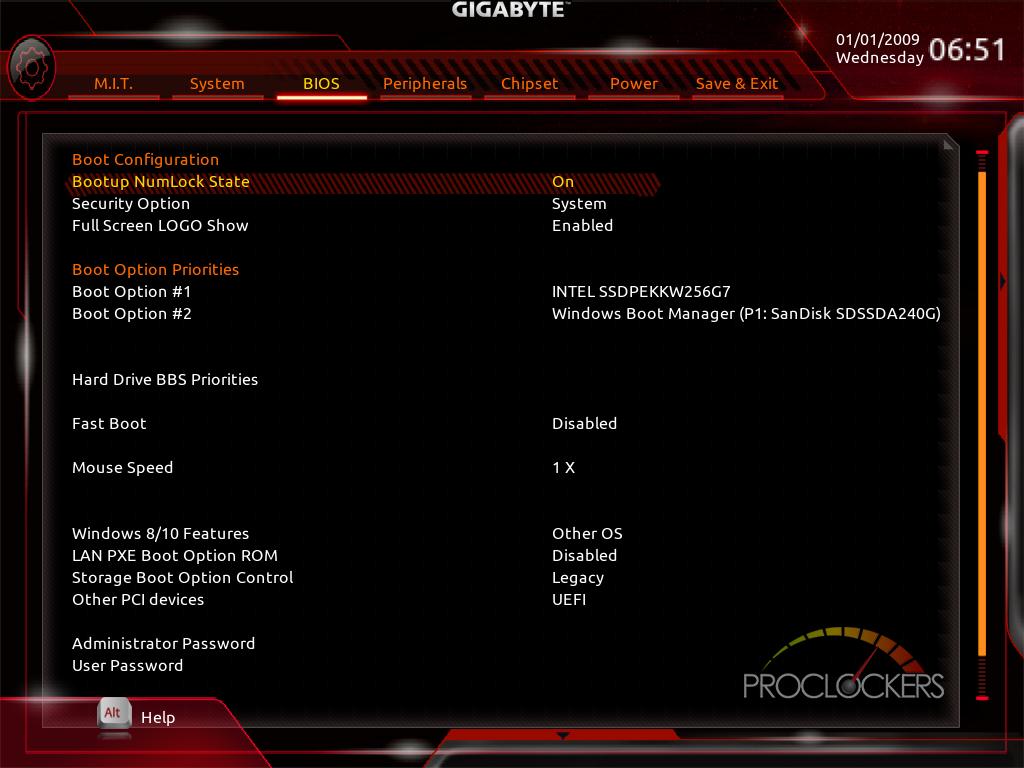 Installation Mojave Gigabyte gaming 5 Z370 Gigaby10