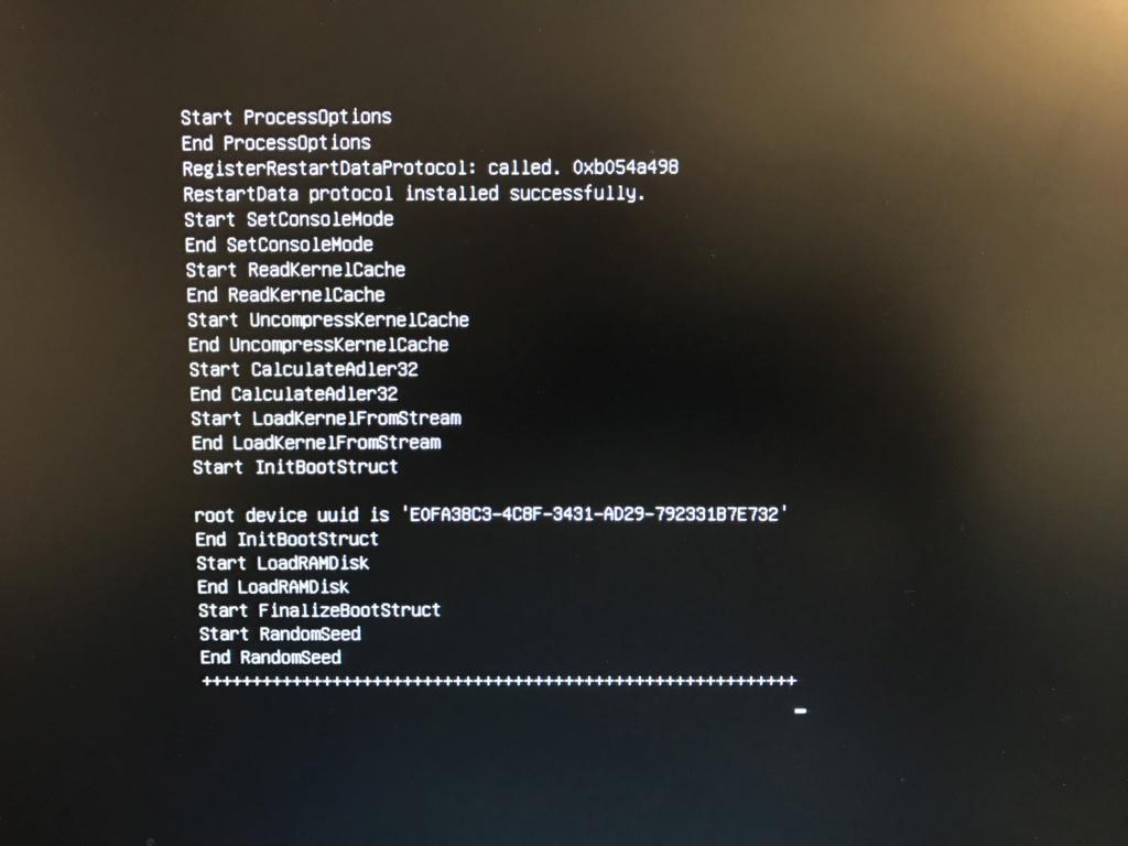 Installation Mojave Gigabyte gaming 5 Z370 Img_1710
