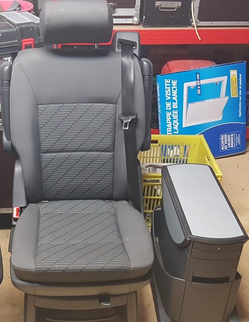 Siege Multivan T5 2010 pivotant (Vendu) 20190311