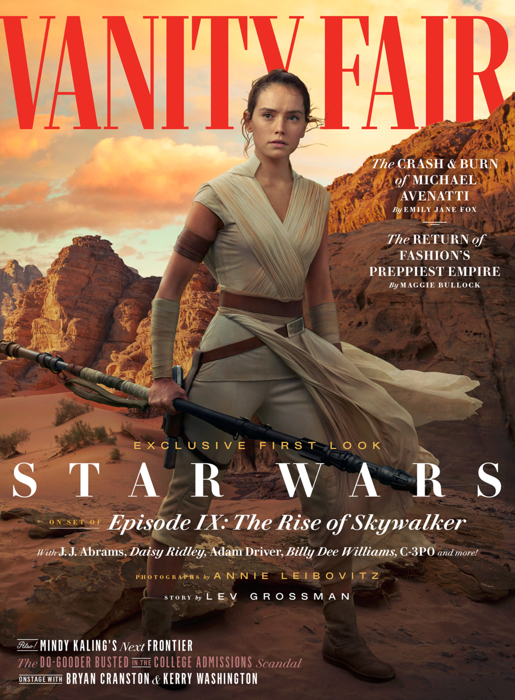 Vanity Fair Feature and Lebowitz Photos for The Rise of Skywalker 2019-010