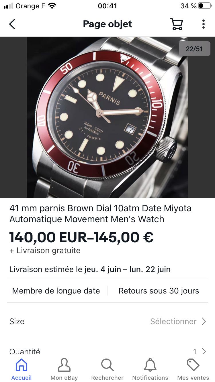"""Ocean - Le club des heureux propriétaires décomplexés de montres """"hommage"""" - tome 2 - Page 20 1e9a1910"""