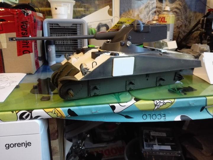Sherman Firefly - Umbau eines M4A3 12552710