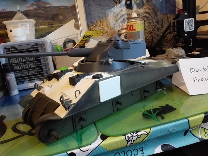 Sherman Firefly - Umbau eines M4A3 12553610
