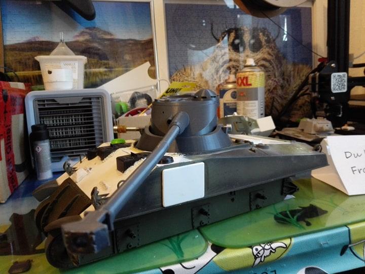 Sherman Firefly - Umbau eines M4A3 12554310