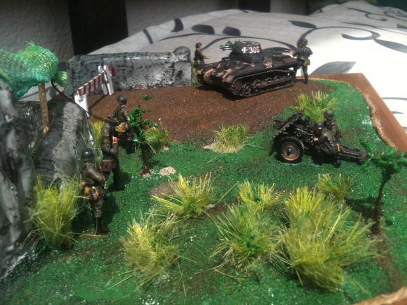 Frankreichfeldzug 1940 - Angriff auf die Maginot Linie 13119110