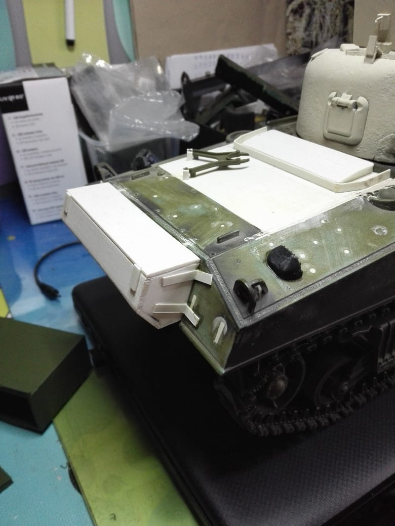 Sherman Firefly - Umbau eines M4A3 13573910