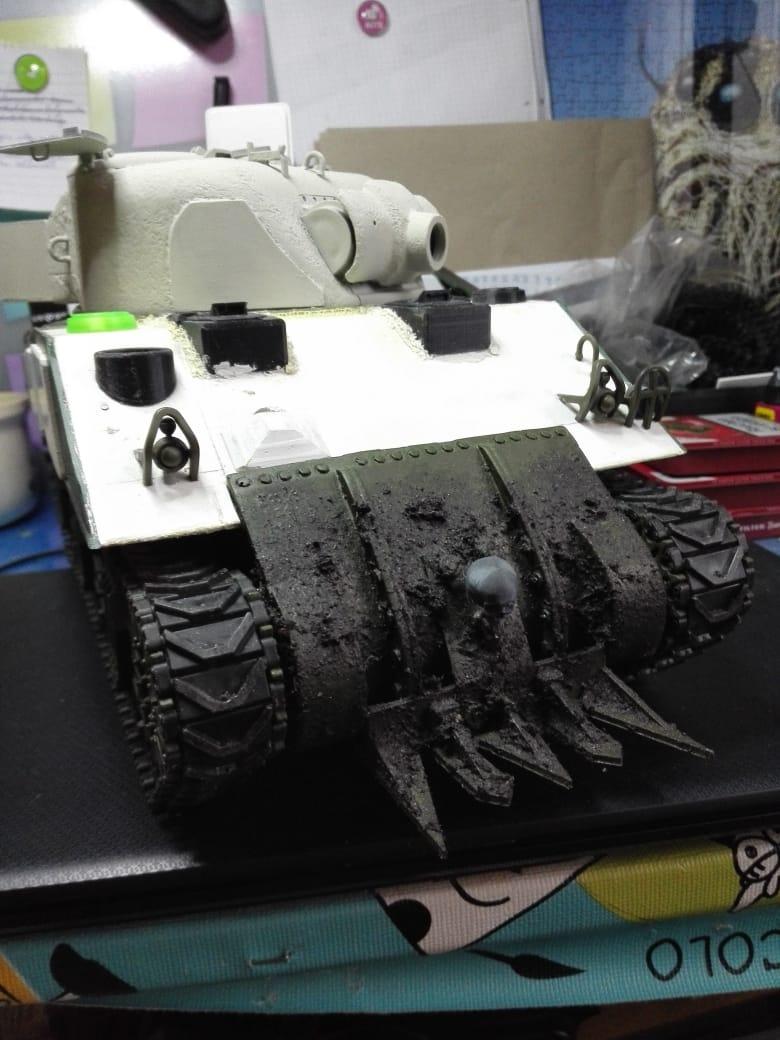 Sherman Firefly - Umbau eines M4A3 13576210