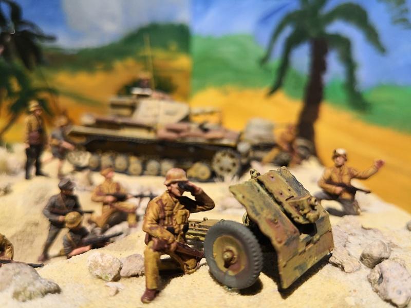 "Wettbewerbsdio ""Afrika Korps 1942"" in 1:72 61919810"