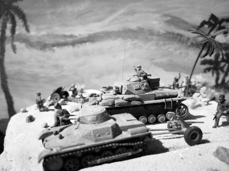 "Wettbewerbsdio ""Afrika Korps 1942"" in 1:72 61943710"