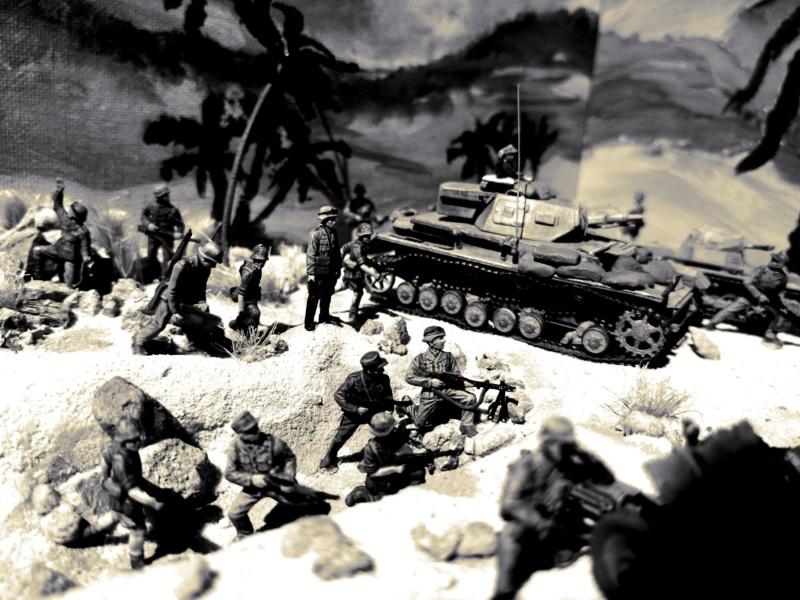 "Wettbewerbsdio ""Afrika Korps 1942"" in 1:72 62068210"