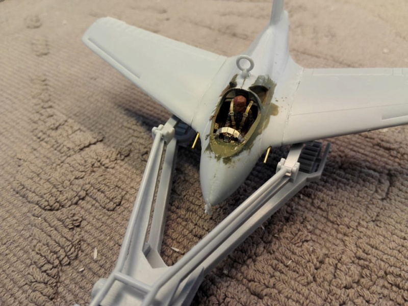 Messerschmitt Me 163 Komet, Heller 1/72 91616112