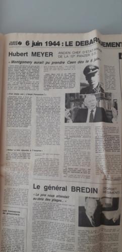 journaux commémoratif débarquement (1964 et 1984)  20200615