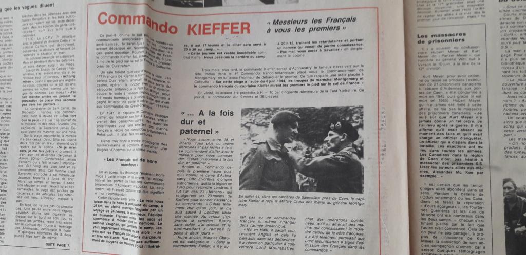 journaux commémoratif débarquement (1964 et 1984)  20200616