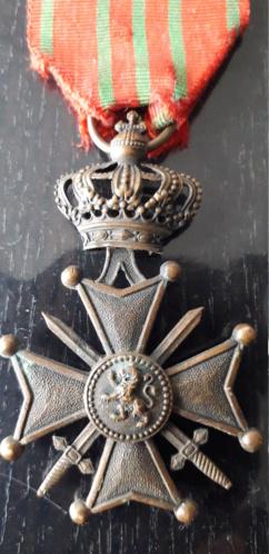 médaille (peut être belge??) à identifier 20201216