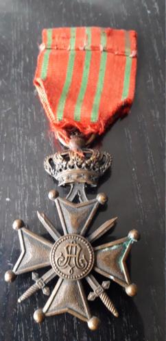 médaille (peut être belge??) à identifier 20201217