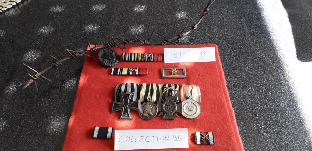 Ma vitrine 1ère Guerre médailles Württembergeoise 20210414