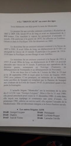 Insigne Cuirassé Montclam Augis. 20210419