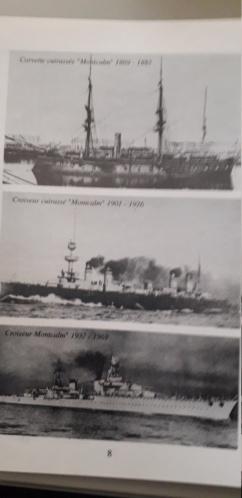 Insigne Cuirassé Montclam Augis. 20210421