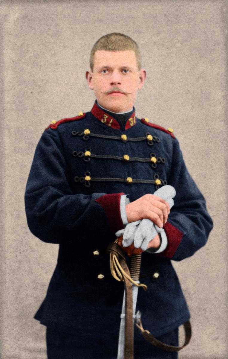 Le soldat Rouillon Léon Denis M à J du 21/12/20 Arrizo15