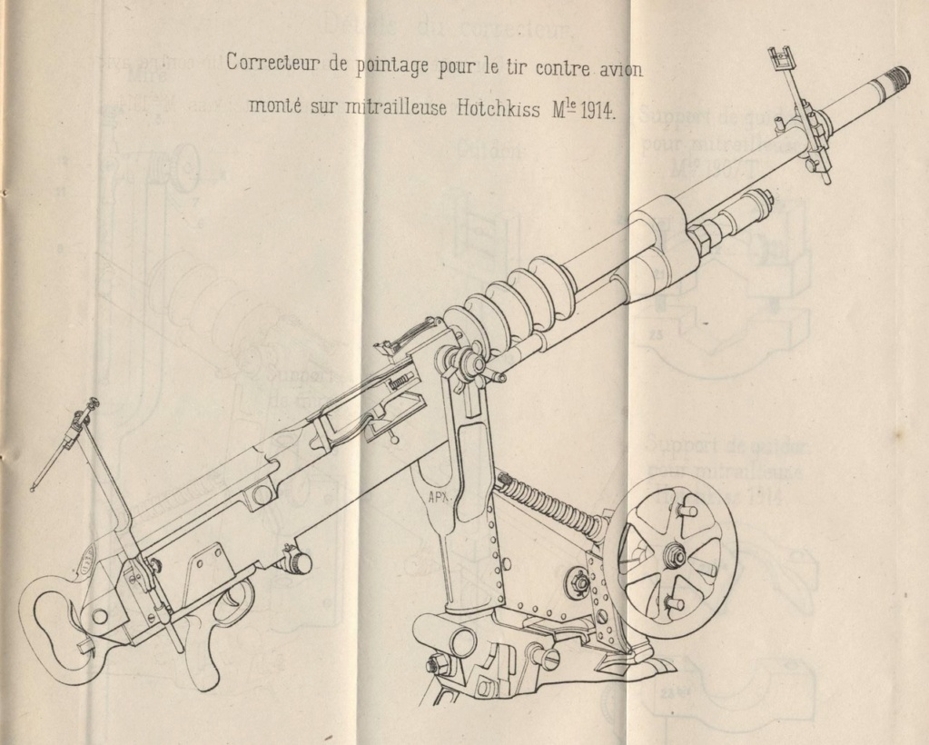 """Mitrailleuse mdle 1907 T ''St Étienne""""  00000061"""