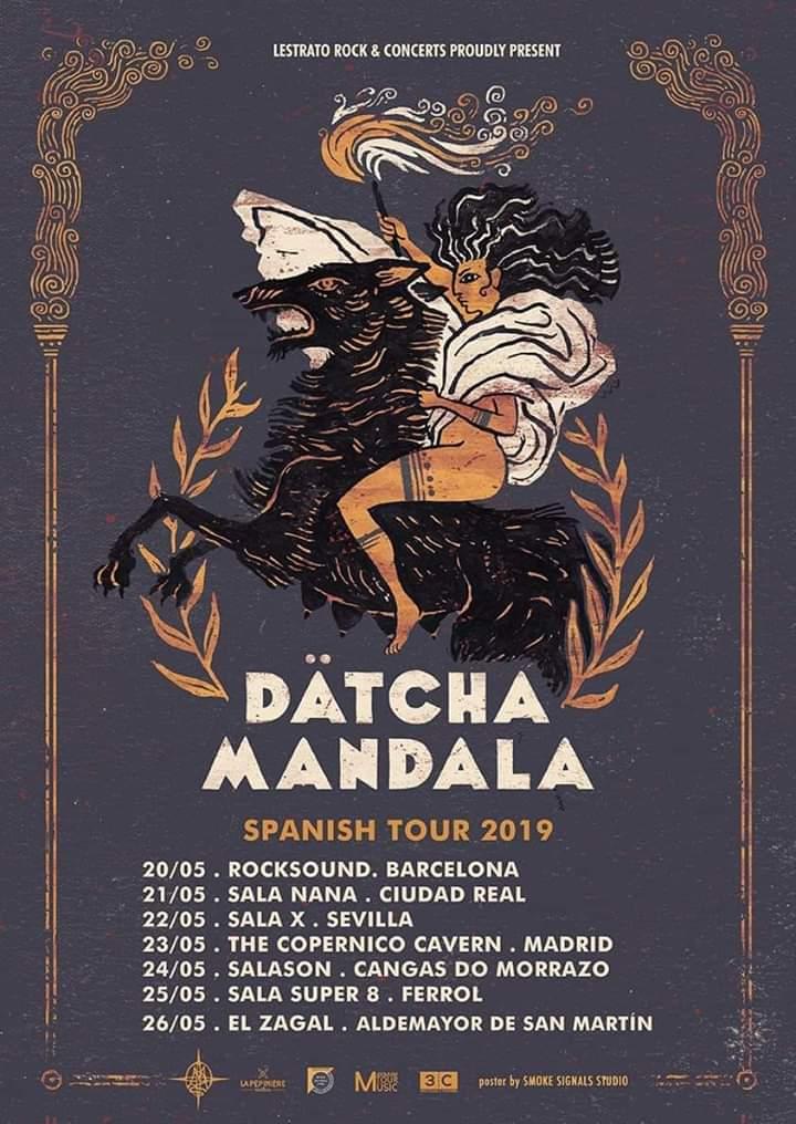 Dätcha mandala, rock 70s desde Francia.Gira por España mayo 2019 Img-2012
