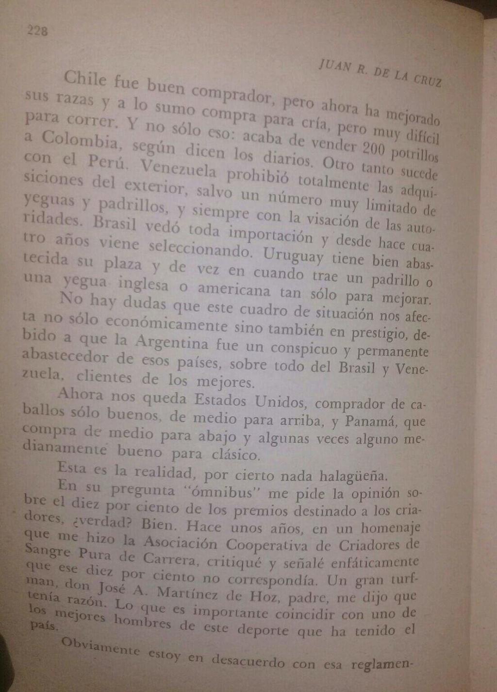 LIBRO EL TURF Y YO JUAN DE LA CRUZ 16d10