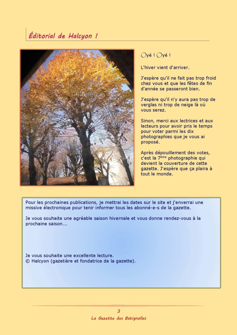 La Gazette des Batignolles n°7 Binder71