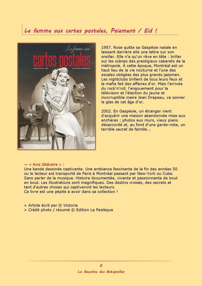 La Gazette des Batignolles n°7 Binder74