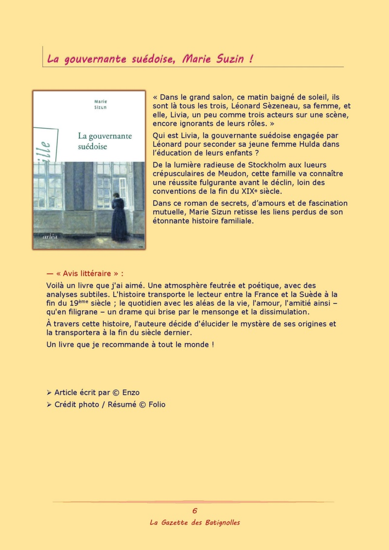 La Gazette des Batignolles n°6 Lgdb0615