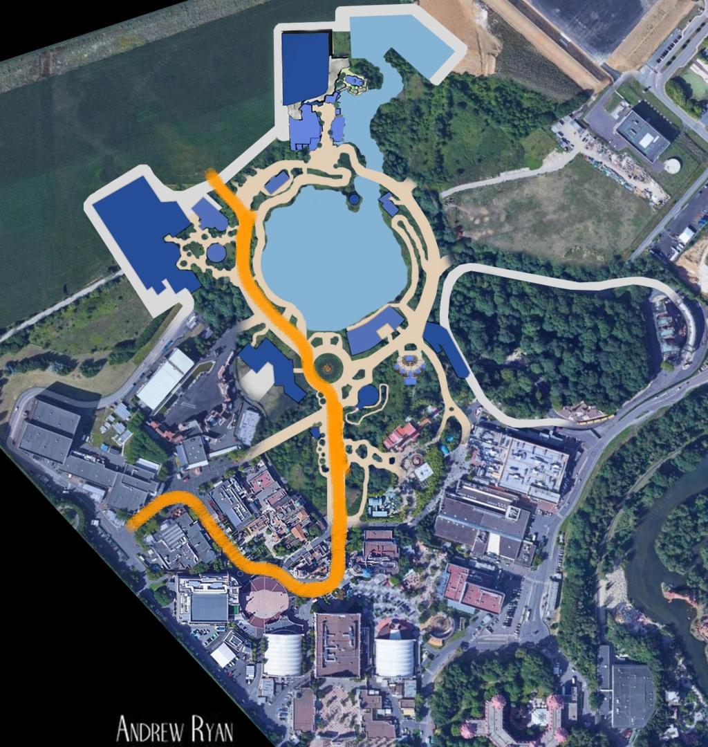 [News] Extension du Parc Walt Disney Studios avec nouvelles zones autour d'un lac (2020-2025) - Page 3 20180712