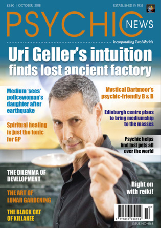 Psychic News - October 2018 Cover110