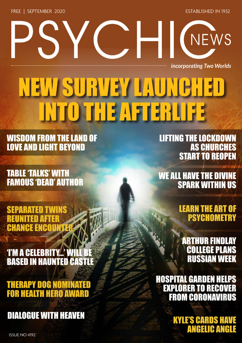 Psychic News - September 2020 issue Cover111