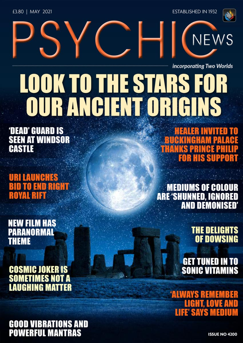 Psychic News - May 2021 issue Cover115