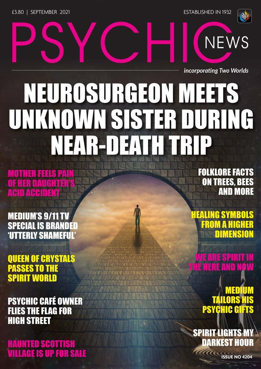 Psychic News - September 2021 Cover118