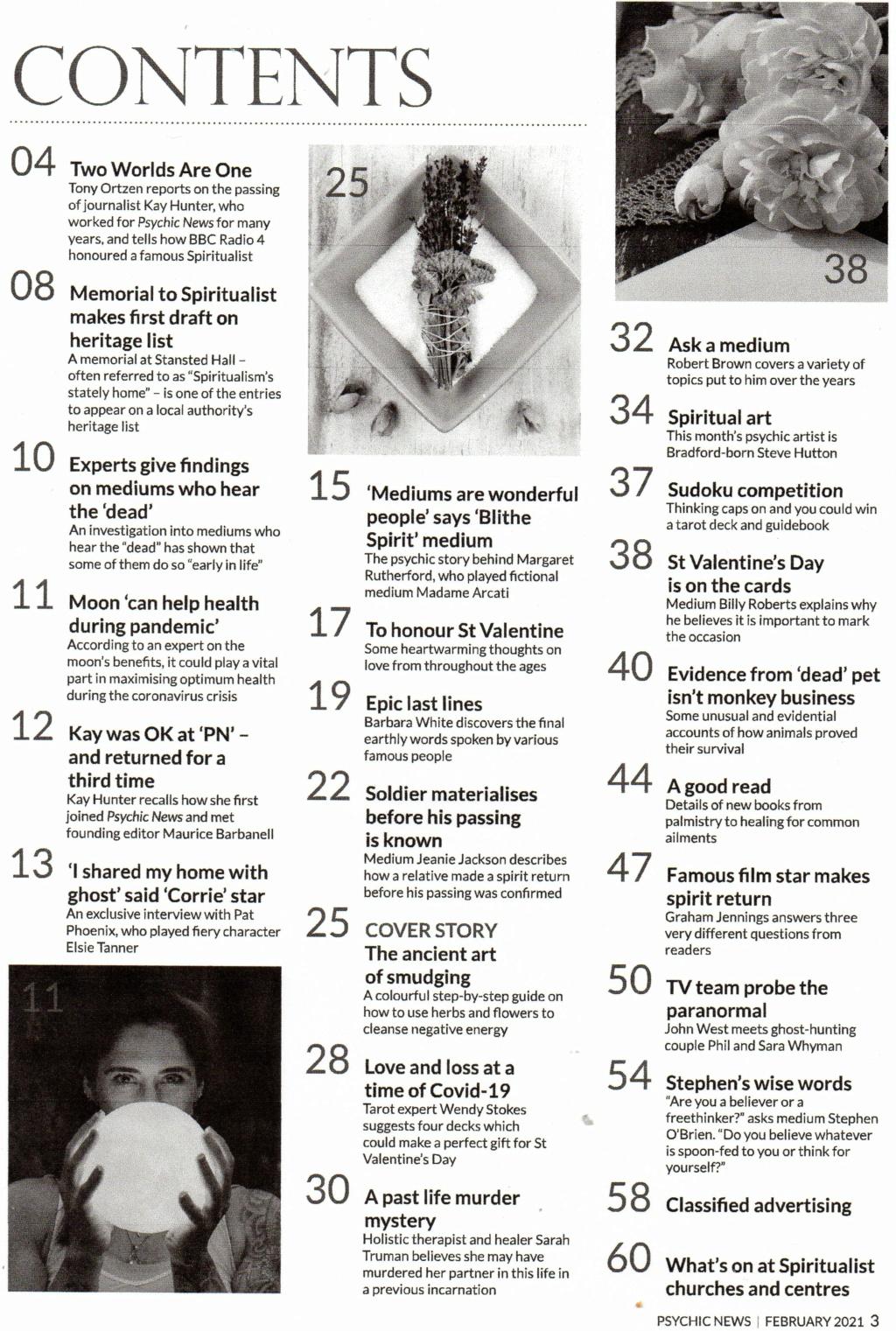 Psychic News - February 2021 issue Pn_feb10