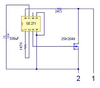 [CR] Adapter la centrale clignotant d'origine à un passage intégral en DEL (LED) Schema10