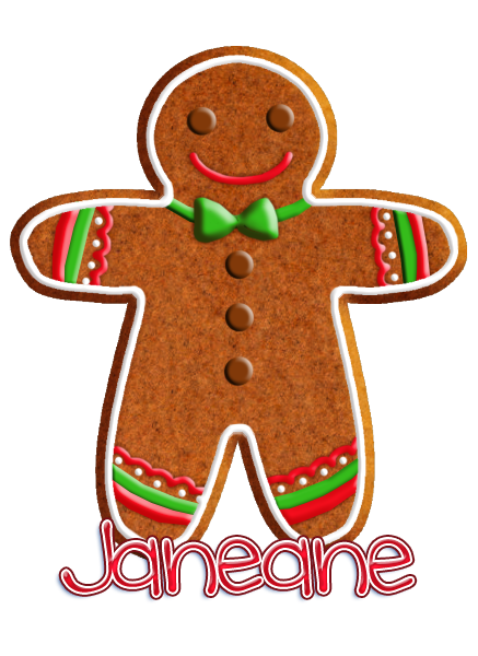 CONTEST: Decorating Gingerbread Cookies! Janean13
