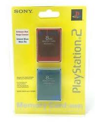 Memory Card PS2: Liste de tous les coloris ? Mcps2p10