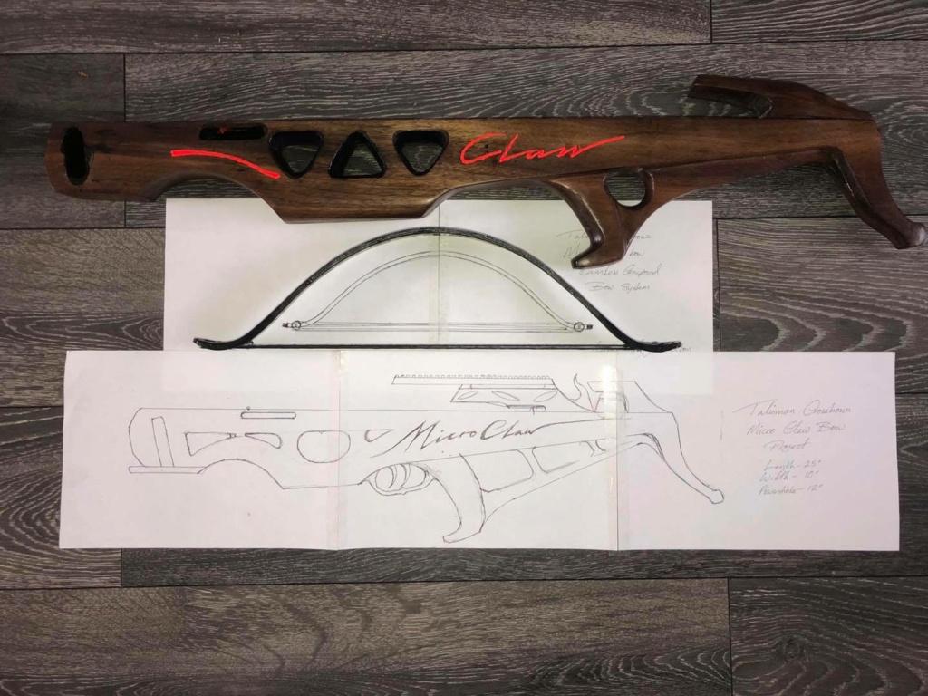 Claw crossbow prototype 11689710